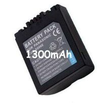 100000VOLTS - Batterie Appareil Photo pour Panasonic Lumix Dmc-fz18EG-K