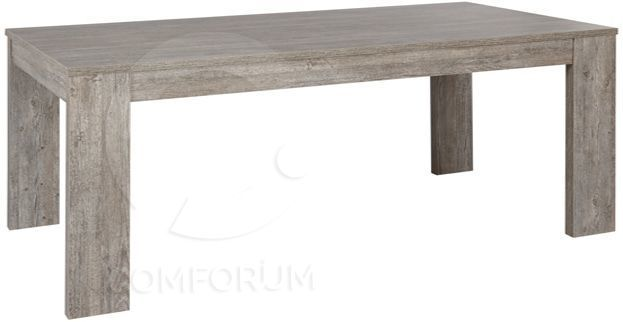 Comforium Table extensible contemporaine 185-235cm coloris Valonia