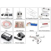 High-Tech Place - Cheerson Cx-20 - Quadricoptere / 10 m/s / Maintien Gps / Retour Auto / Portee 300M / Monture pour camera / Batterie 2700mAh