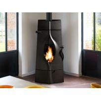 poele a bois feu continu achat poele a bois feu continu pas cher rue du commerce. Black Bedroom Furniture Sets. Home Design Ideas