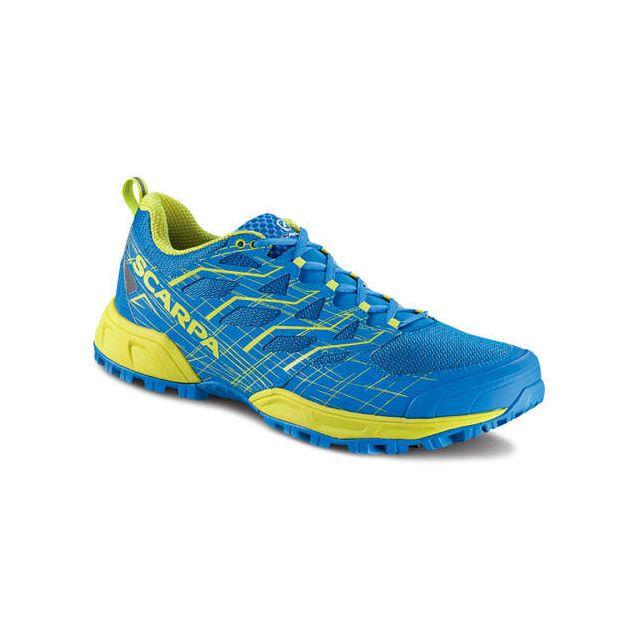 Scarpa Chaussures Neutron 2 Grecian Blue-Spring Green