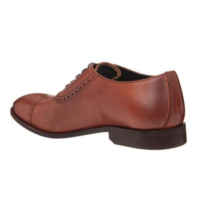 Alain Manoukian Manolo 1T Homme Chaussures Cuir Richelieu EI9D2HW