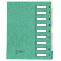 Emey - Clip Junior - Trieur - 12 compartiments - 24x32 cm - Vert