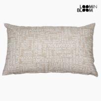 Marque Generique - Coussin avec message 30 cm X 50 cm - Textile et Linge de Maison