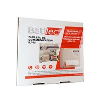 Batilec - Coffret de communication 8 Rj45 Basic