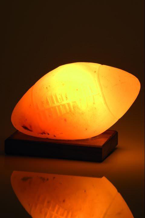 Lampe de sel - Ballon de rugby
