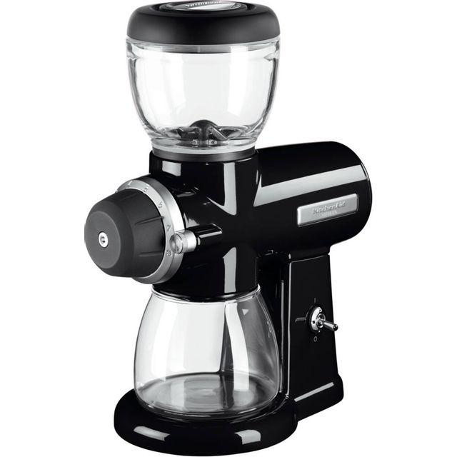 KITCHENAID broyeur à café 200g 220w noir onyx - 5kcg0702eob