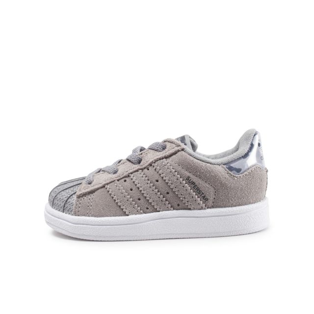 Adidas originals - Superstar Grise Et Camo Bébé