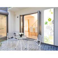 Habitat et Jardin - Toile décorative extérieure Floral 1 1 x 3m