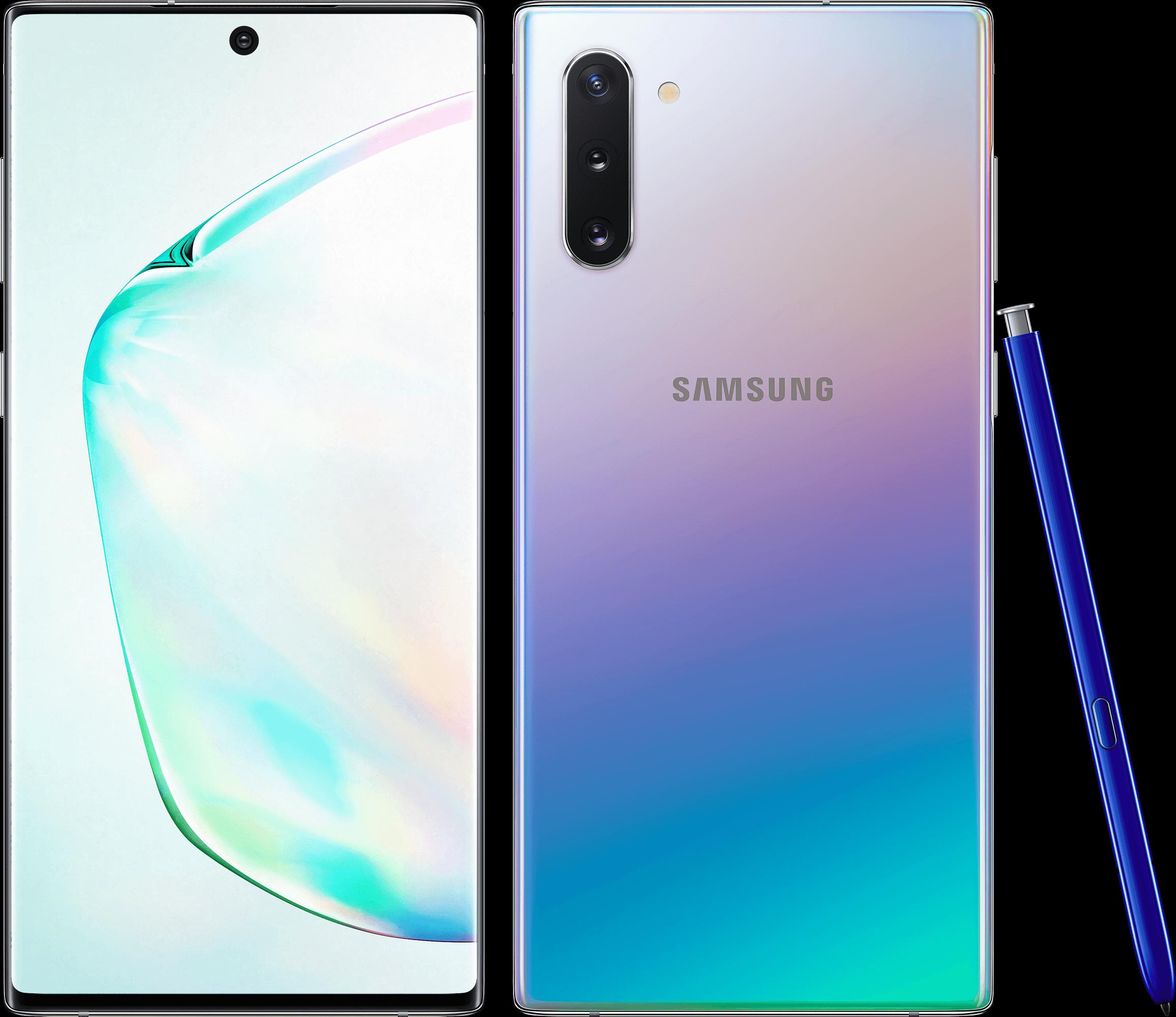 Smartphone Galaxy Note 10 250 Go Samsung Argent Stellaire