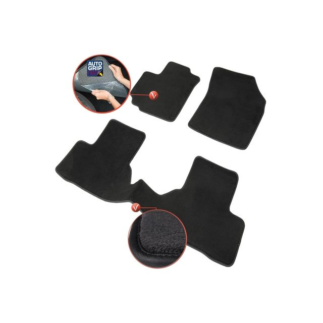 dbs tapis auto voiture sur mesure pour suzuki swift de 10 2010 2018 3 pi ces gamme. Black Bedroom Furniture Sets. Home Design Ideas
