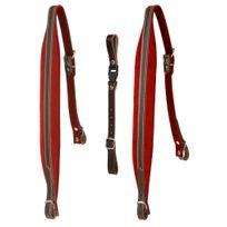 Alpenklang - bretelles pour harmonica à 4 rangées - rouge