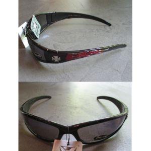 hotrodspirit - lunette de soleil choppers croix malte flamming rouge or idXCZNOlqj