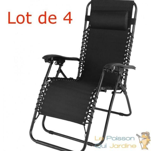 chaise longue pliante pas chère