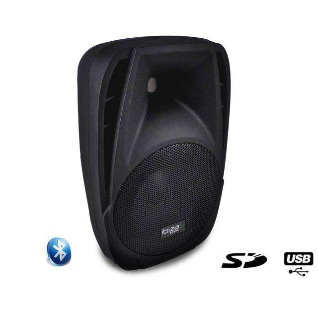 Ibiza Enceinte amplifiée 150W 8