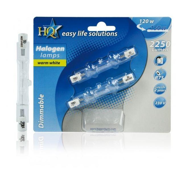 hq ampoule r7s halogene eco 120w pas cher achat. Black Bedroom Furniture Sets. Home Design Ideas