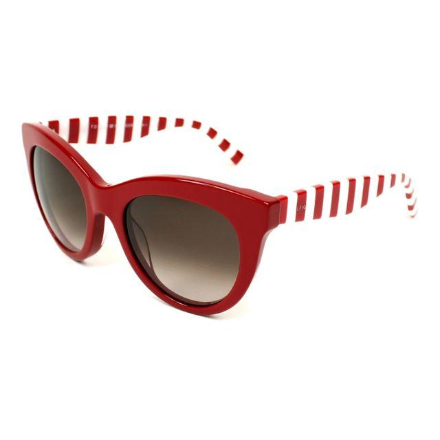 47806369ffc3b0 Tommy hilfiger - Th-1480-S C9A HA Rouge - Blanc - Lunettes de soleil - pas  cher Achat   Vente Lunettes Tendance - RueDuCommerce