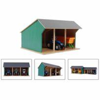 0f705c22edc32d KIDS GLOBE - Hangar de ferme pour tracteurs jouet Petit 1 32 Bois 610192