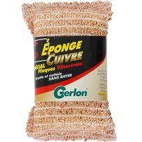 Gerlon - Eponge cuivre pour plaque vitrocéramique