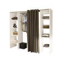 penderie profondeur 40 cm achat penderie profondeur 40 cm pas cher soldes rueducommerce. Black Bedroom Furniture Sets. Home Design Ideas