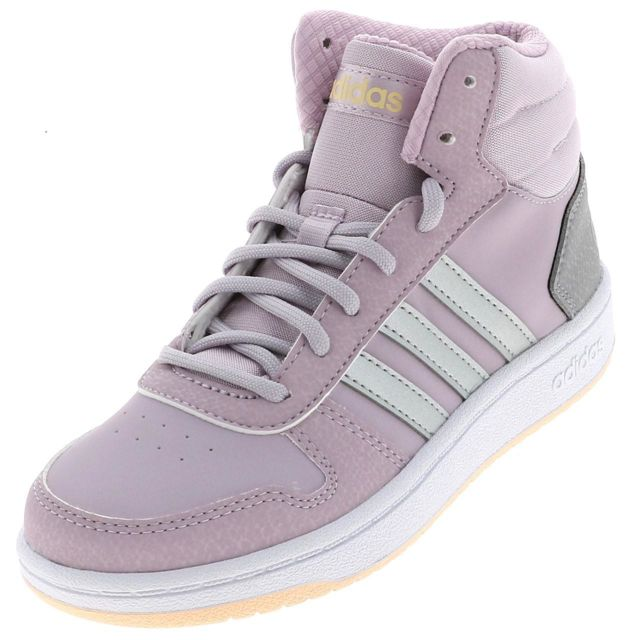 Adidas Chaussures mode ville Hoops mid 2 mauve Violet
