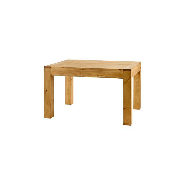 Table repas carrée 80x80 cm en pin massif - Colro