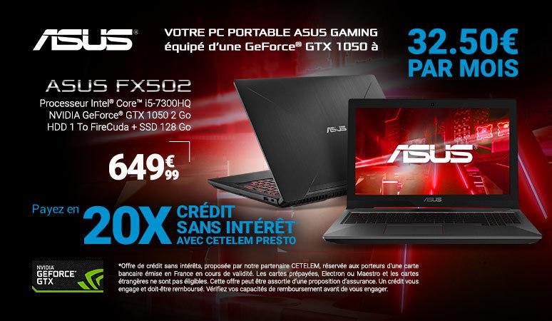 ASUS - FX502VD-DM173T - Noir