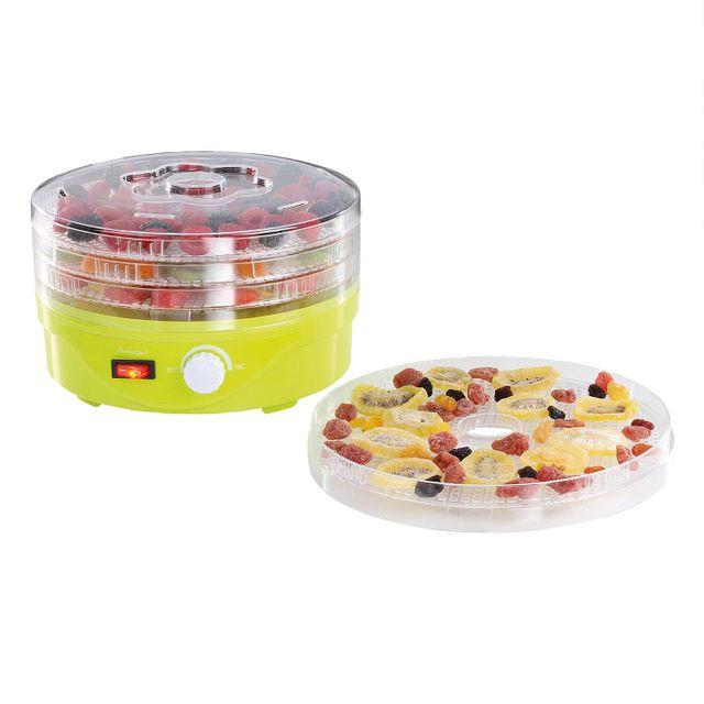 Domoclip Mini déshydrateur, pour sécher fruits, légumes, herbes, poissons, viandes Dom341V