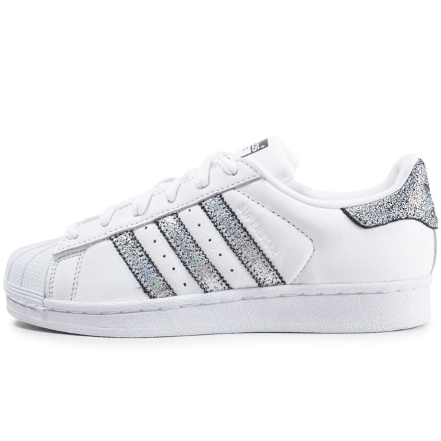 Adidas originals - Superstar Holographique Blanche Et ...