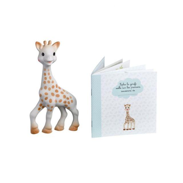 Vulli sophie La Girafe + Livret Mes Souvenirs