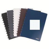Atoma - Cahier A4 quadrillé 5x5 Polypropylène Tendance