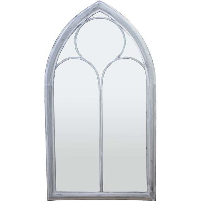 ESSCHERT DESIGN Miroir fenêtre église 112 cm