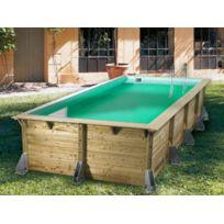 piscine bois rectangulaire 4x2 5