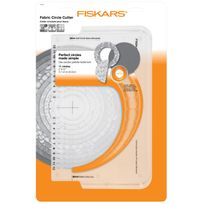 Fiskars - Cutter circulaire pour tissus