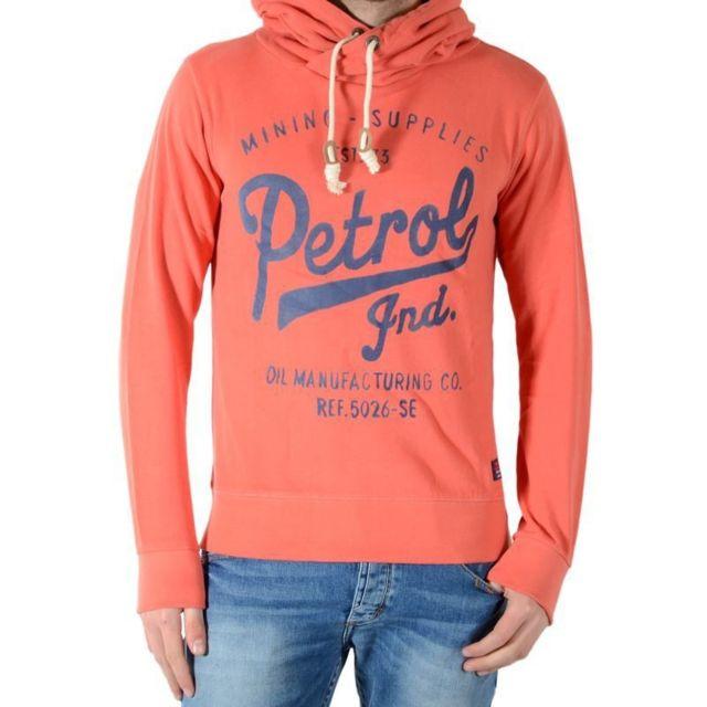 Petrol Industries Sweat Swh326 Orange Radish 321 Gris M
