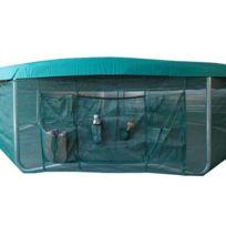 France Trampoline - Jupe de protection avec vide-poche 4m90