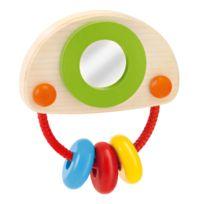 Selecta Spielzeug - Mobile hochet en bois Cliponello