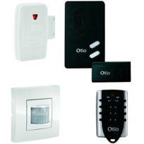 OTIO - kit alarme sans fil compatible domotique - 752001