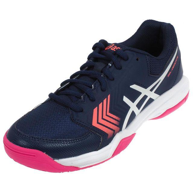Gel Chaussures Dedicate5 Nv Tennis L Asics Pas Bleu 51057 7qHatH