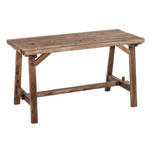 Tousmesmeubles Table de repas rectangulaire Bois - Fenyo