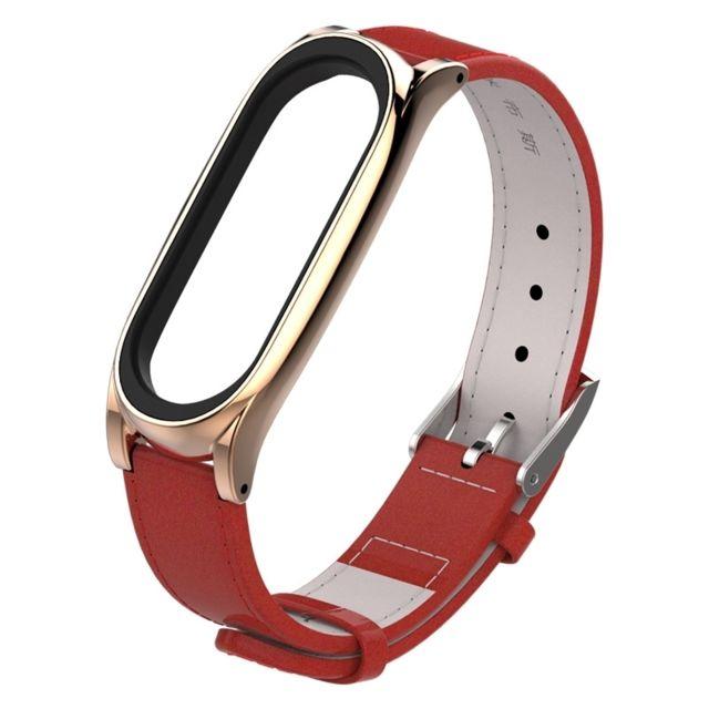 mi band 3 bracelet cuir