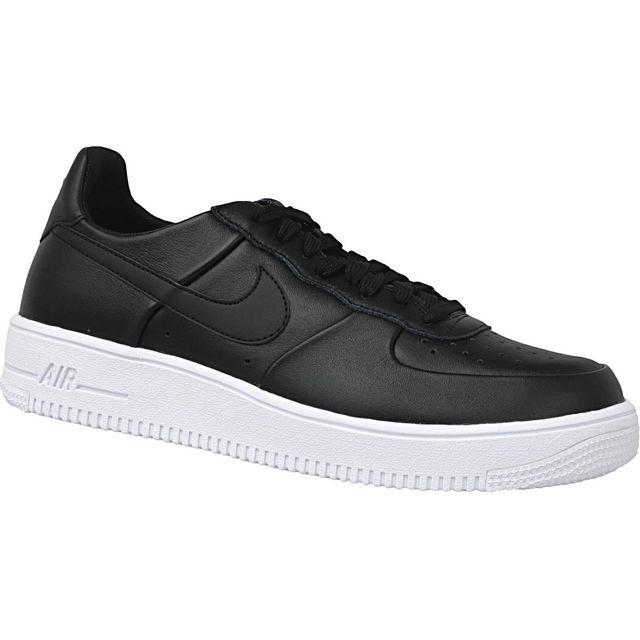 Nike - Air Force 1 845052-001 Homme Baskets Noir - pas cher Achat   Vente  Baskets homme - RueDuCommerce b859835dbb94