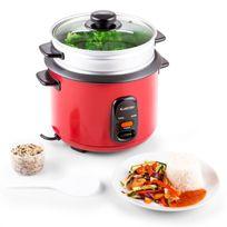 KLARSTEIN - Osaka 1.5 Premium cuiseur à riz avec accessoire vapeur 1,5L
