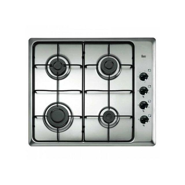 Teka Plaque au gaz Hlx60 4G 60 cm Acier inoxydable Noir 4 cuisinière