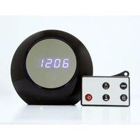 Yonis - Réveil caméra espion sphère avec détecteur de mouvement Micro Sd
