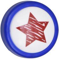 Lief - Veilleuse Led a bouton poussoir bleu