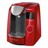 Bosch - cafetière à dosettes 3.3 bars 1300w rouge - tas4503