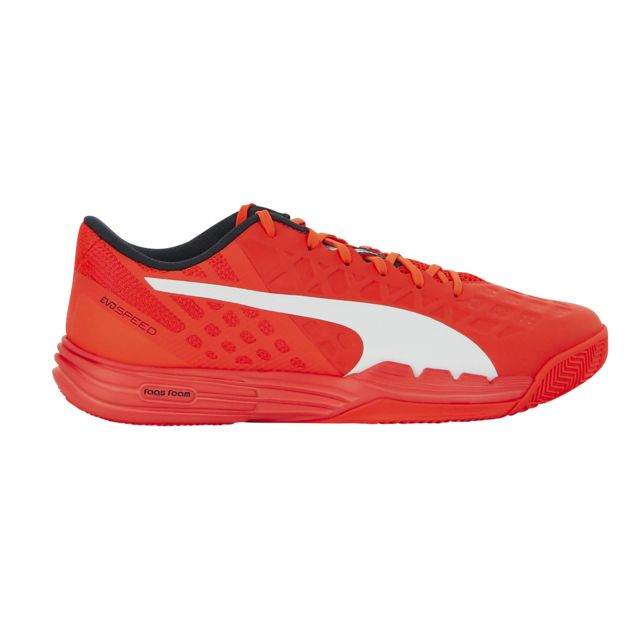 Puma Chaussures Handball Evospeed 3.4 Orange pas cher