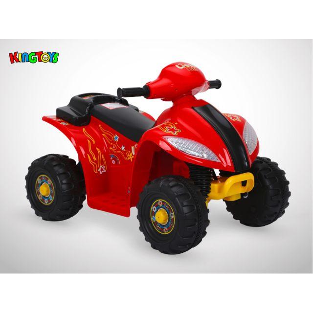 Kingtoys Quad électrique enfant - Varox 16W - Rouge