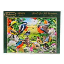 DISET - Puzzle 1000 pièces : Birds for All Seasons